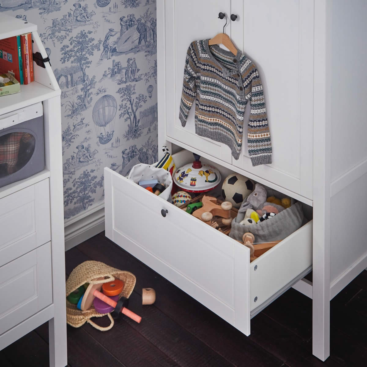 IKEA Ideas - Once upon a time, there was a dreamy children's room