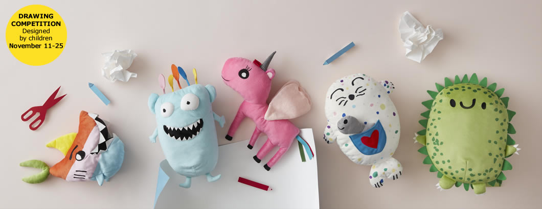 Soft Toy Drawing Competition