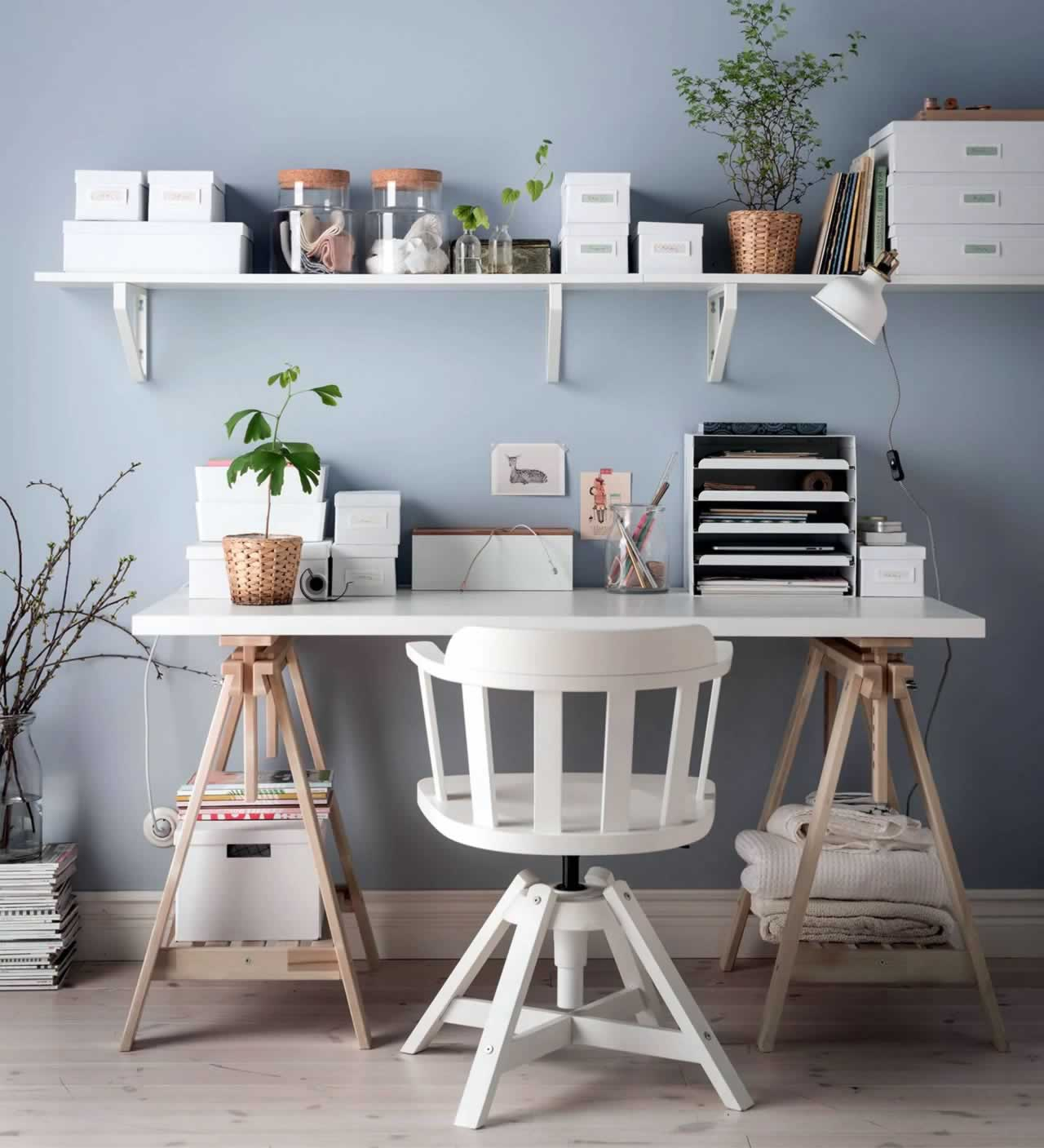 IKEA Ideas - 3 ways to organise your desk