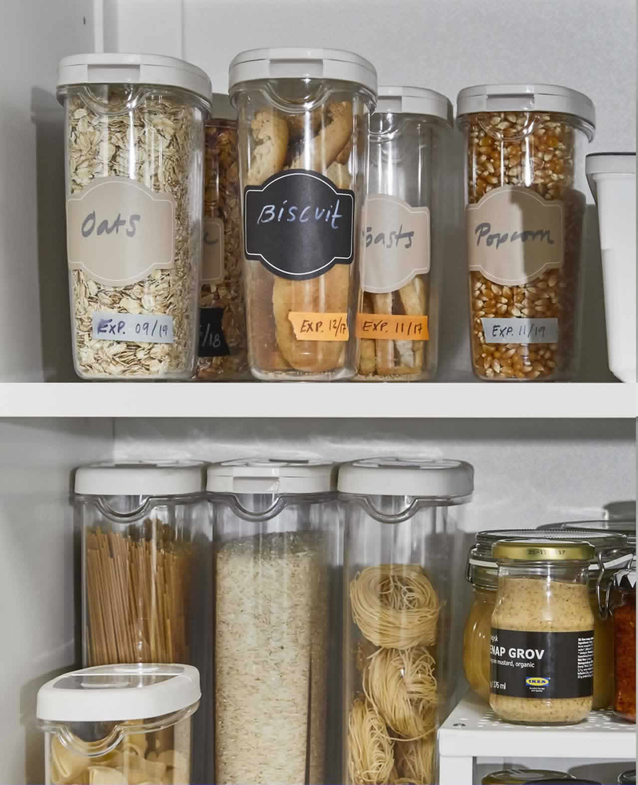 IKEA Ideas - 5 pantry storage tips for your kitchen