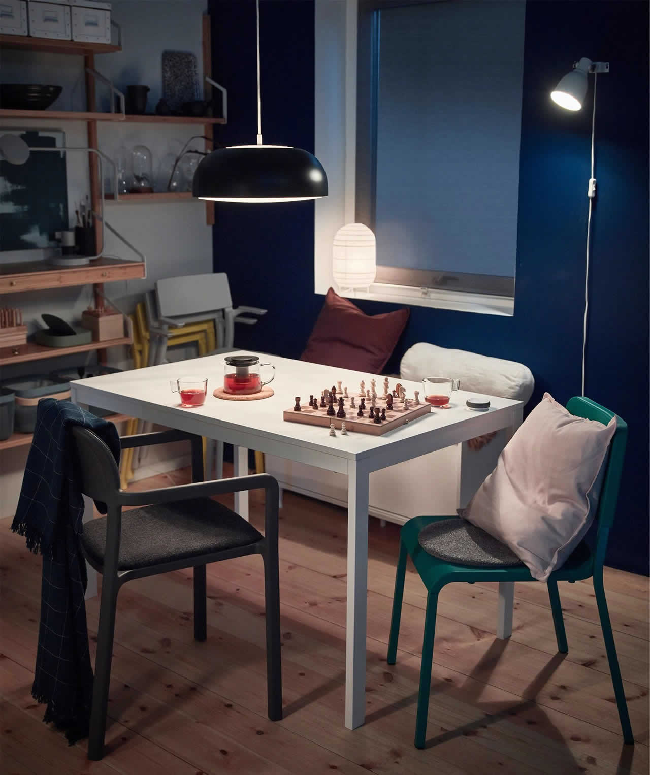 IKEA Ideas - A 24-hour dining room