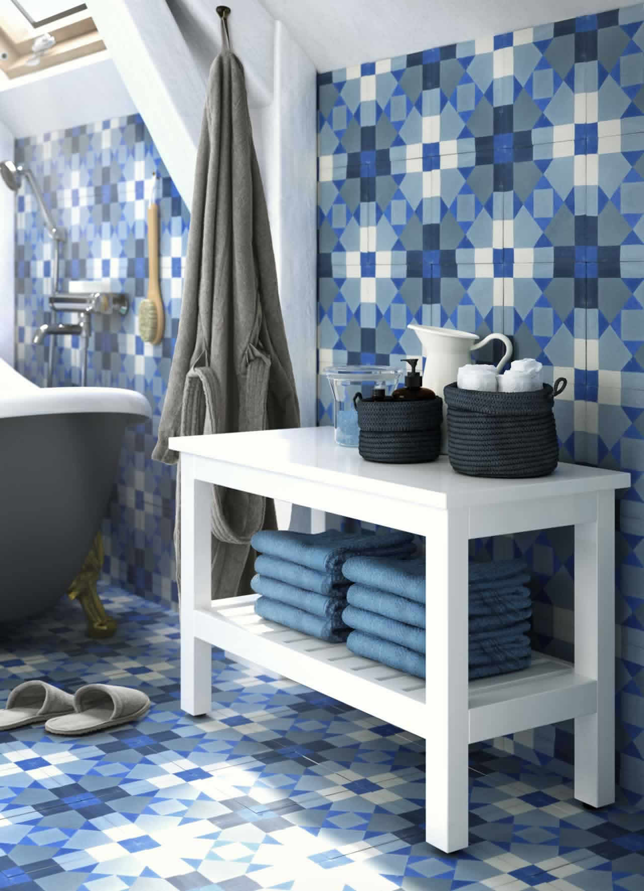 IKEA Ideas - Affordable luxury in a spa-style bathroom