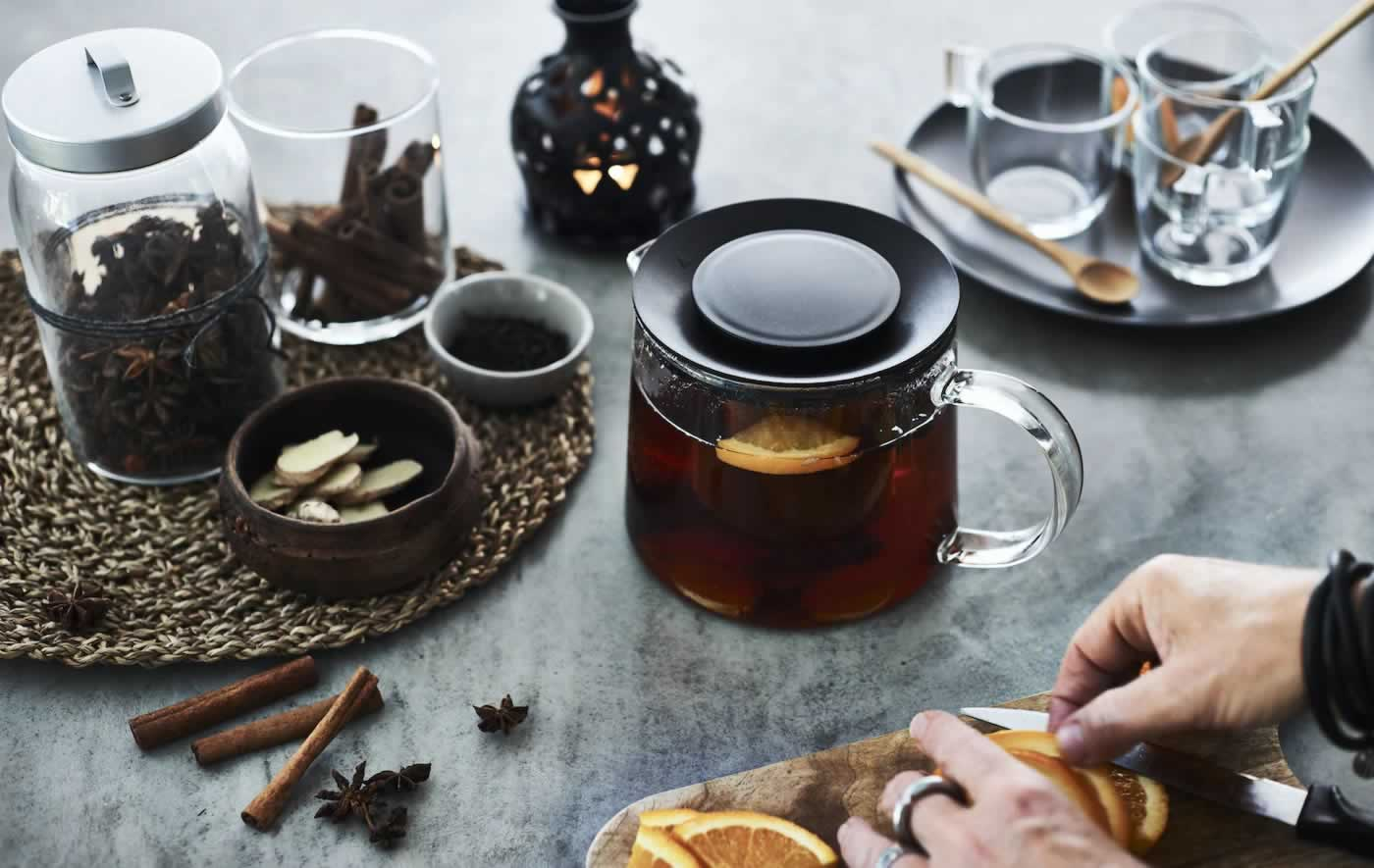 IKEA Ideas - Brew a warming festive tea