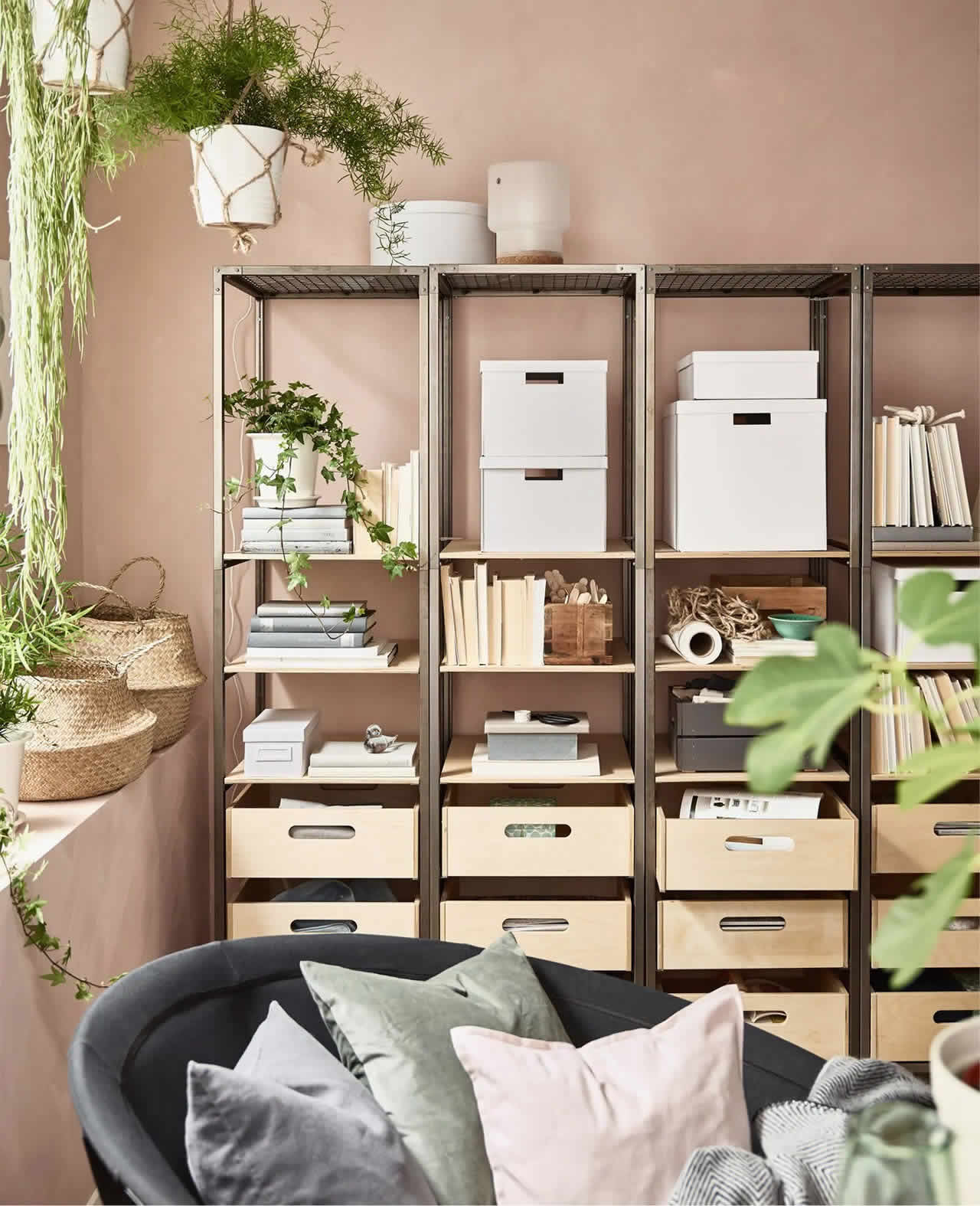IKEA Ideas - How to get a stress-free living room