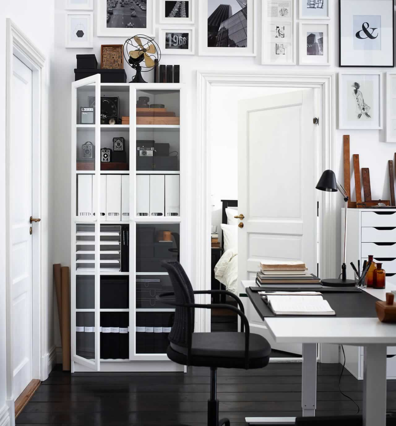 IKEA Ideas - Super stylish home office secrets