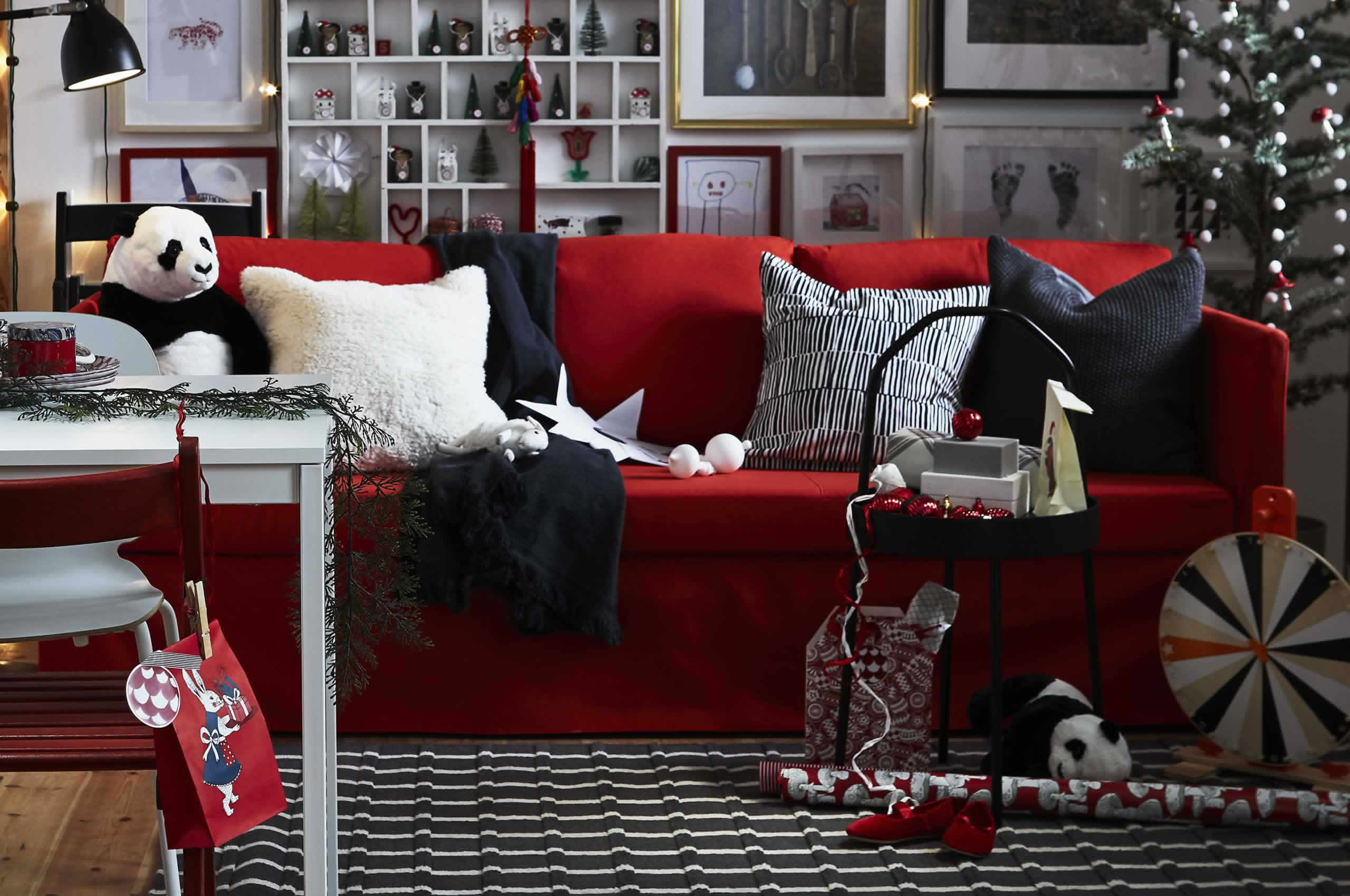 IKEA Ideas - Three living rooms that say: Welcome.