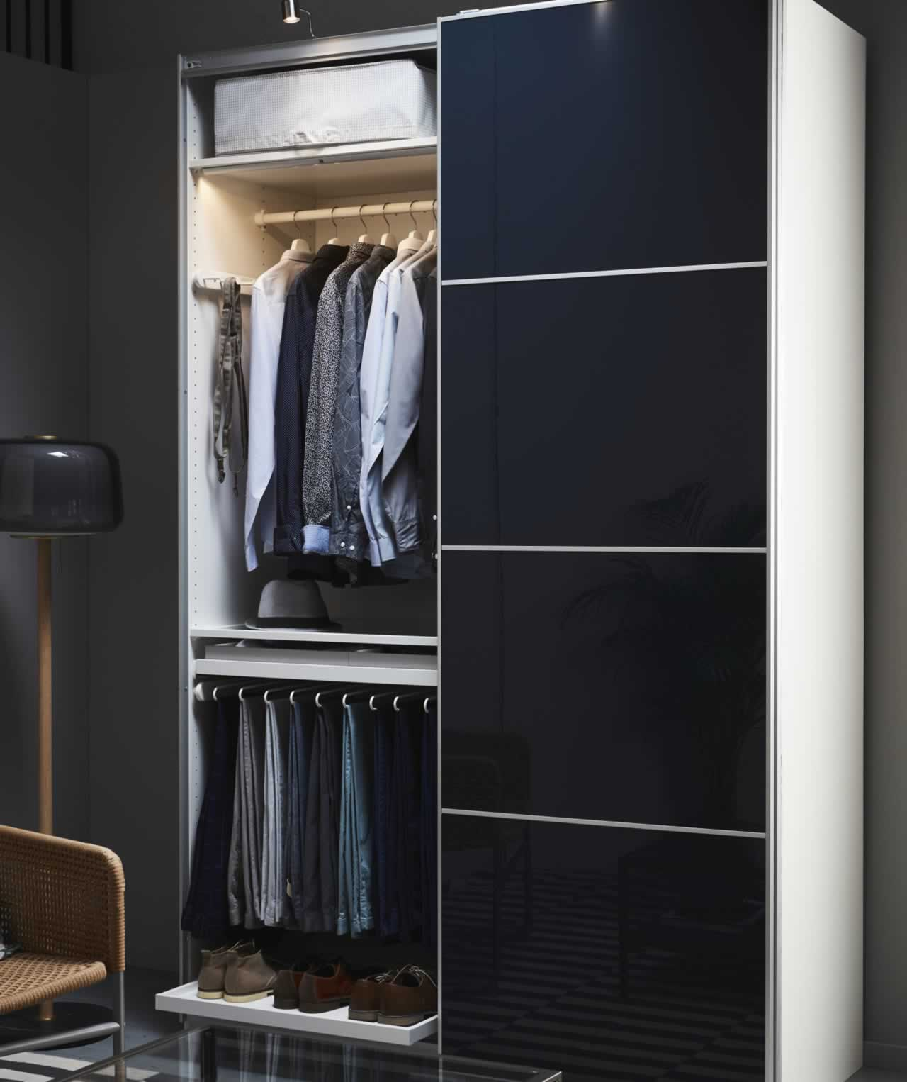 IKEA Ideas - Three wardrobes tailored for me, myself and I!