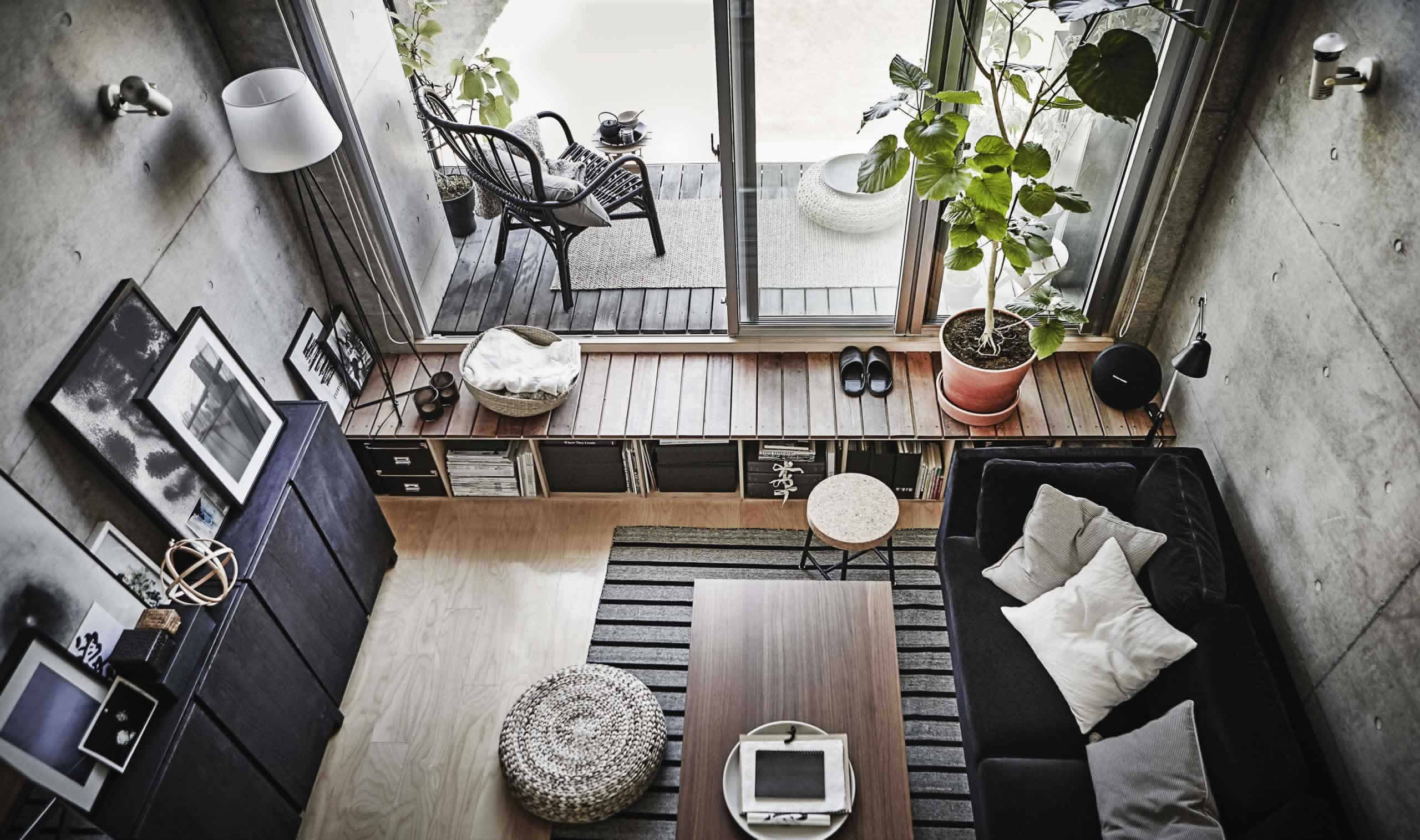 IKEA Ideas - A cleverly planned small urban space