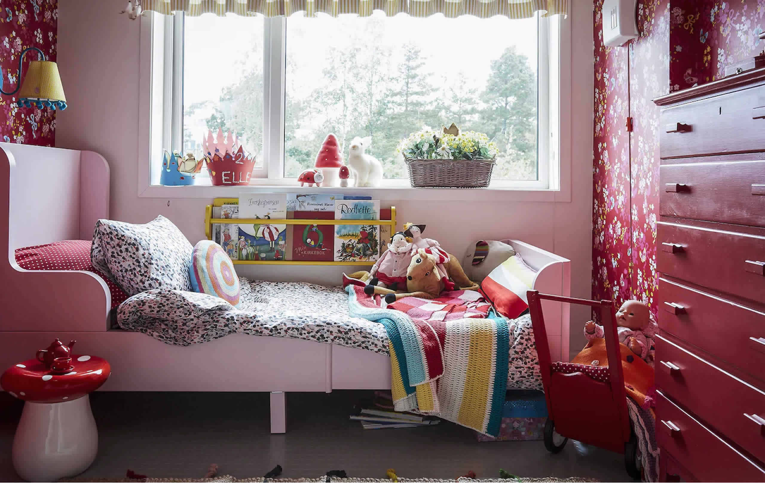 IKEA Ideas - Ideas from two colourful kids' rooms