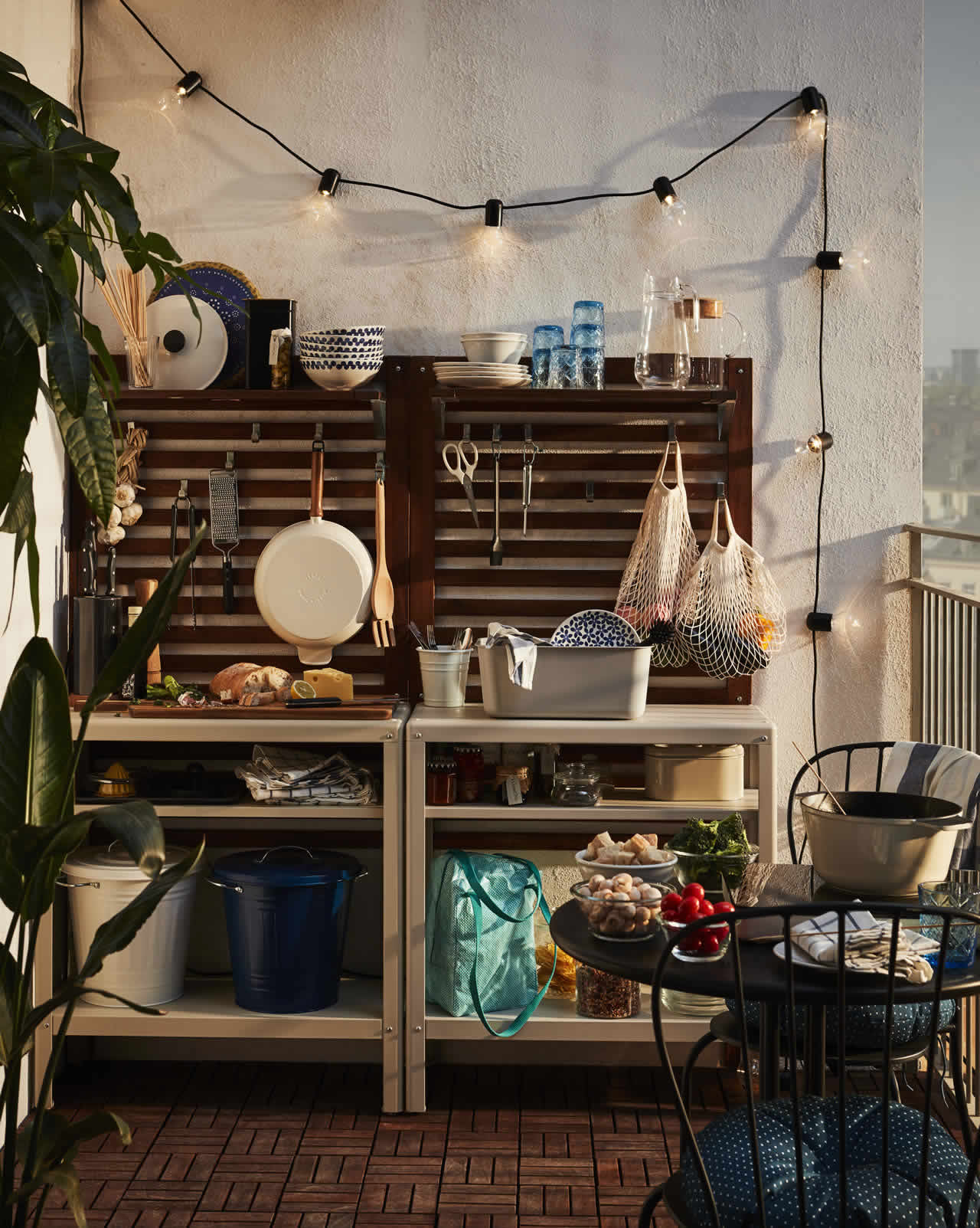 IKEA Ideas - Living slow on the balcony