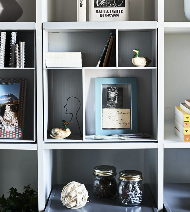 IKEA Ideas - Make your KALLAX unit truly yours