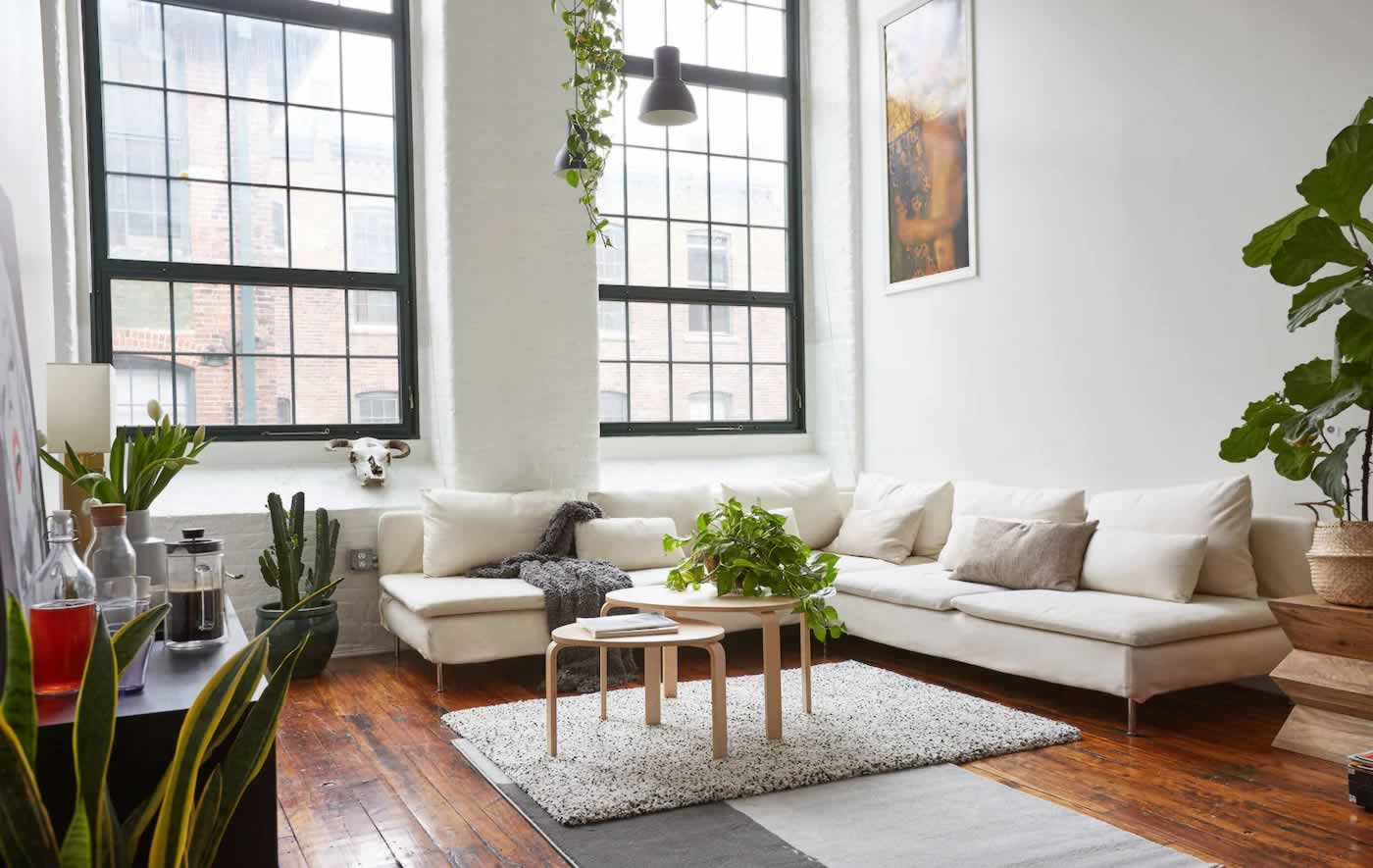 IKEA Ideas - Modern loft living
