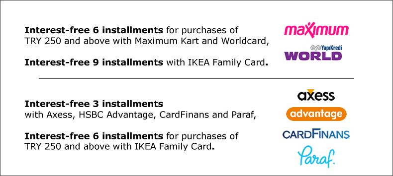 Payment Options | IKEA Turkey