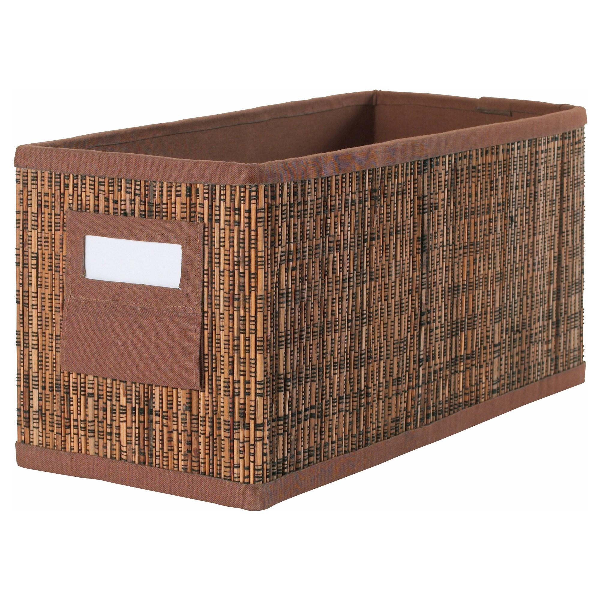 sc 1 st  ?kea & MOTORP box palm leaf 14x30x15 cm | IKEA Home Organization