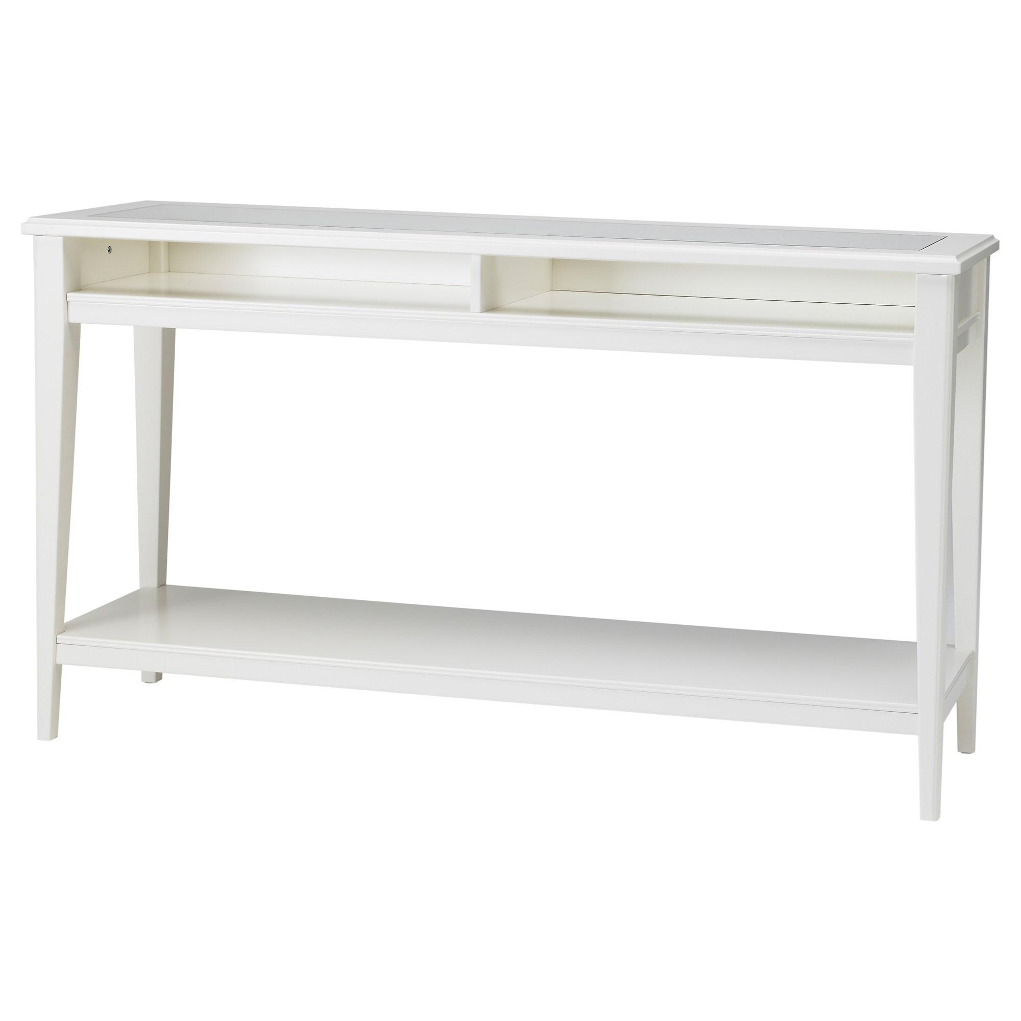 Liatorp Console Table Whiteglass Ikea Dining Room