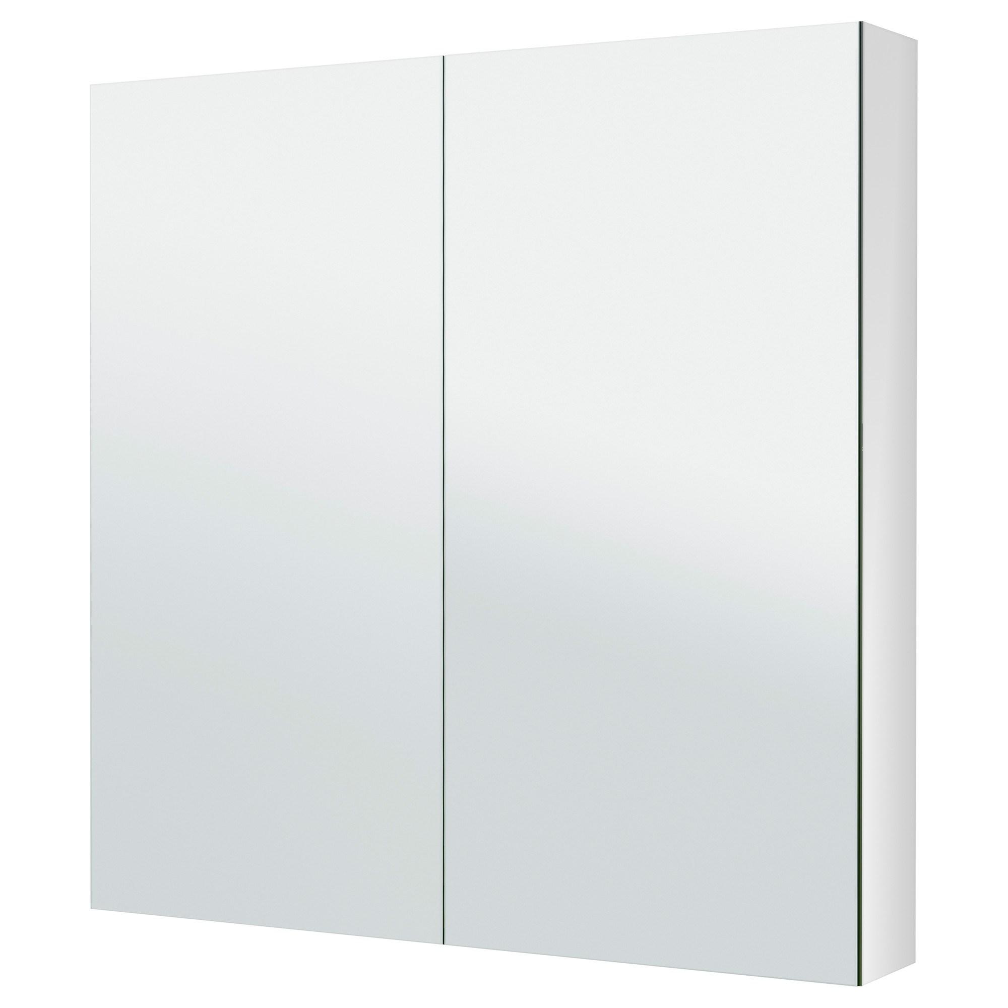Godmorgon Mirror Cabinet White 100x14x96 Cm Ikea Bathroom