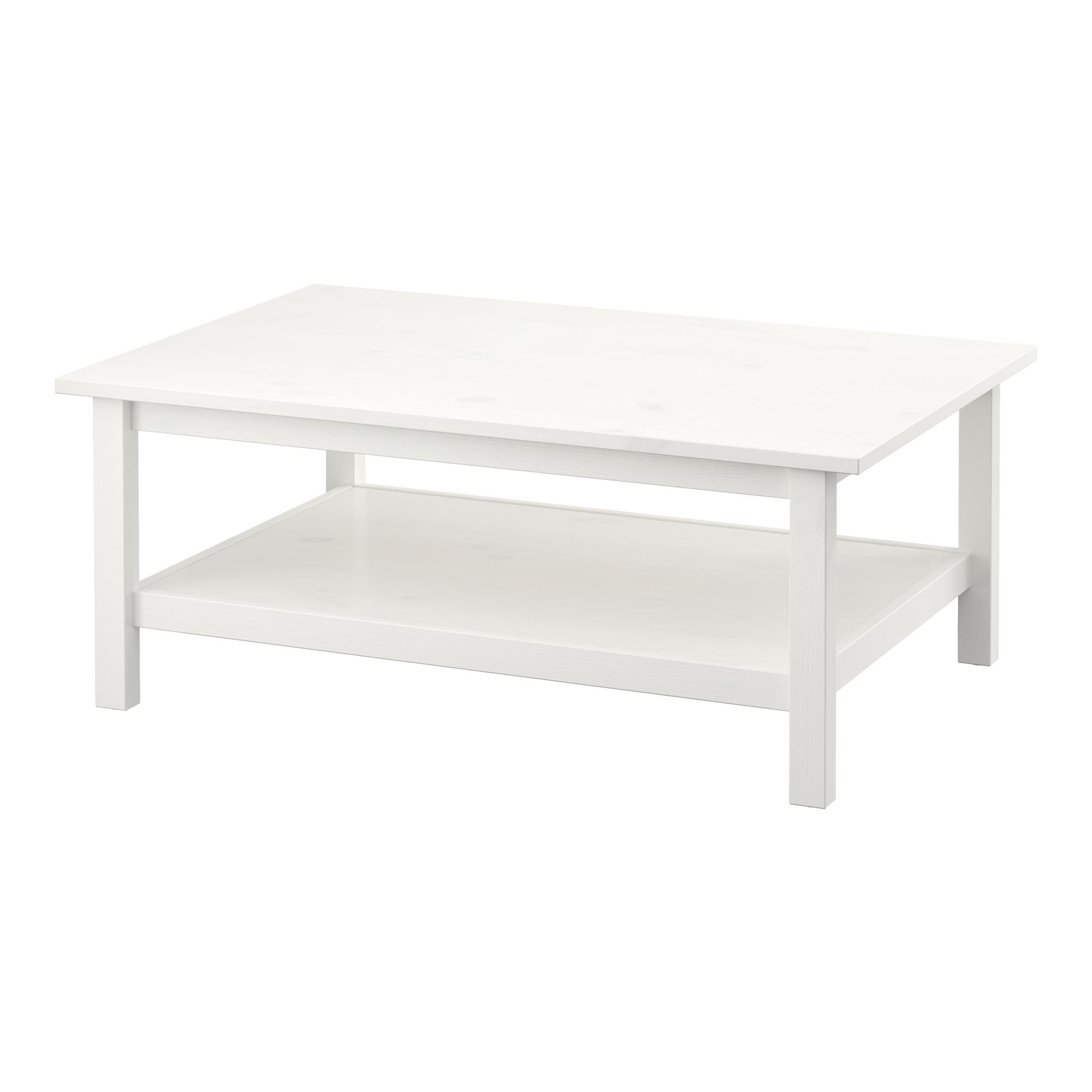 HEMNES coffee table white 118x46 cm