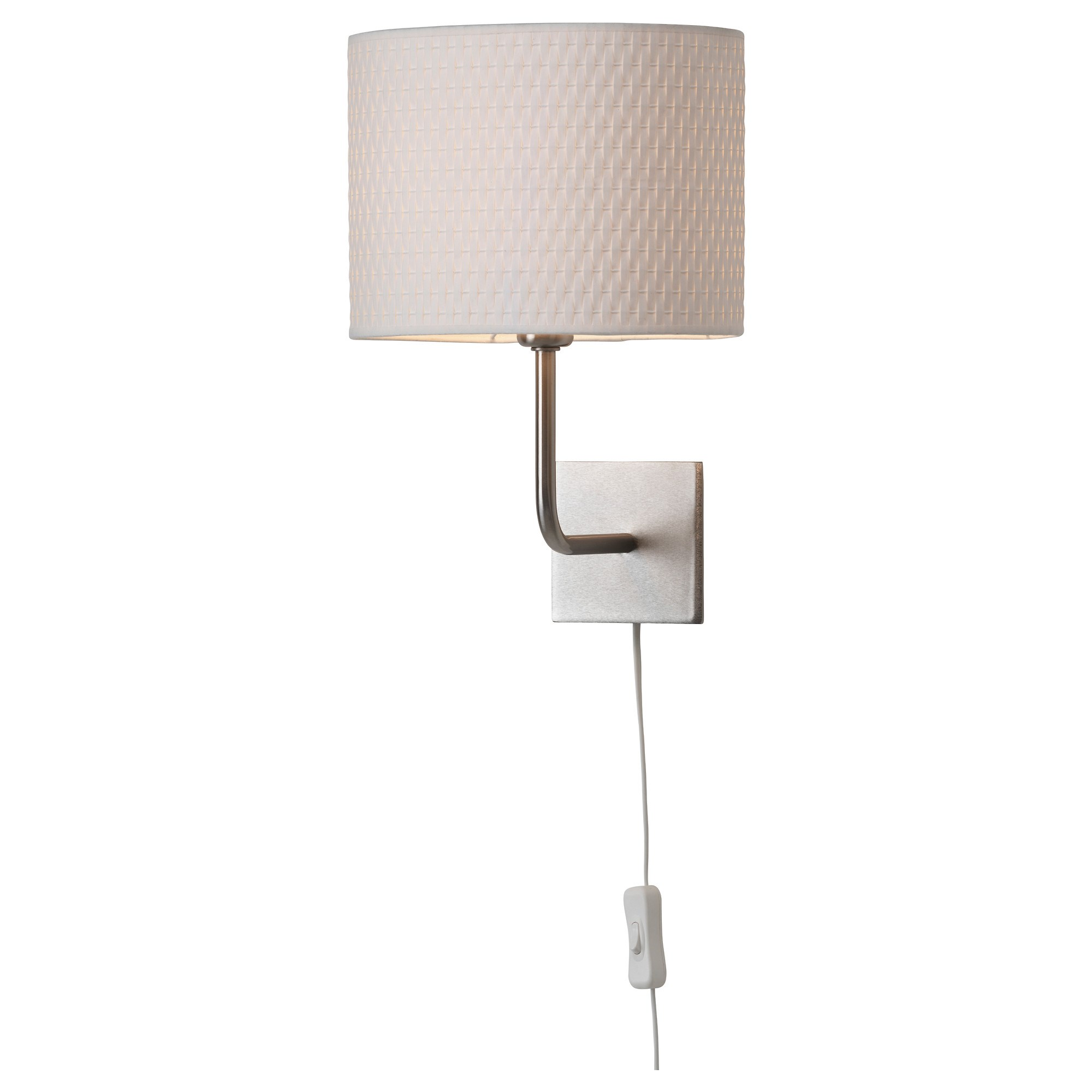 alang wall lamp white 25 cm ikea lighting