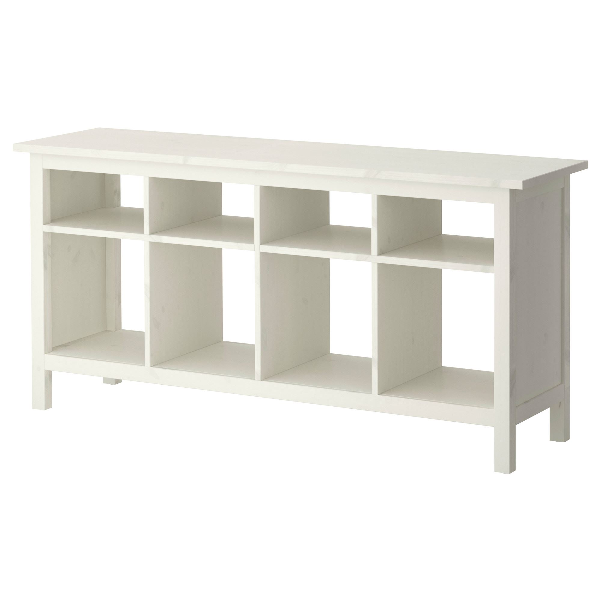 HEMNES console table white varnish 157x40x74 cm | IKEA Living Room