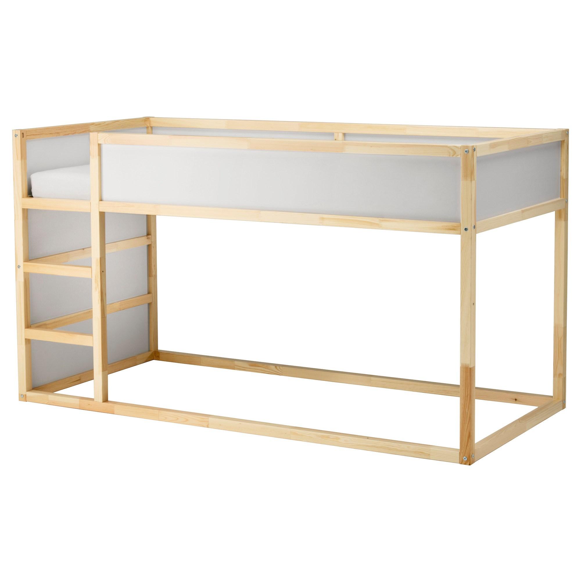 halvhøj seng ikea KURA reversible bed white/pine 90x200 cm | IKEA Children's IKEA halvhøj seng ikea