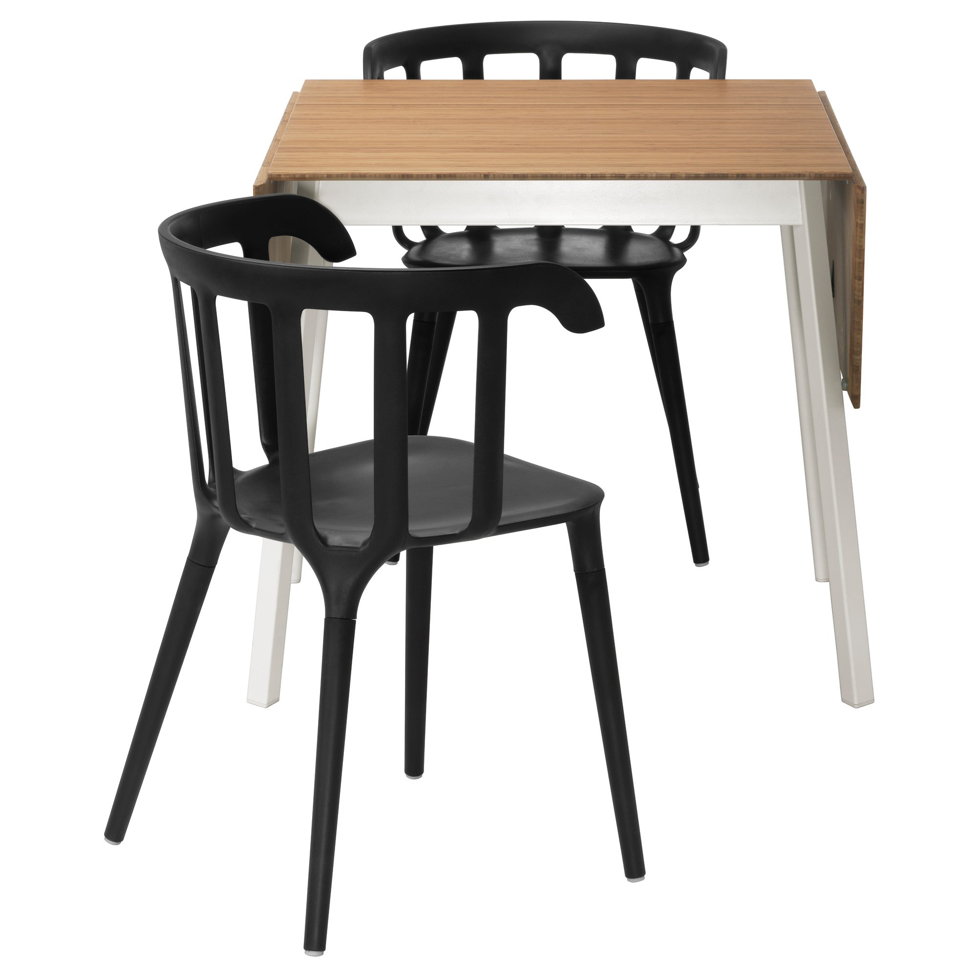 Ikea Ps 2017 Dining Table And Chairs Bamboo Black 74 Cm Room