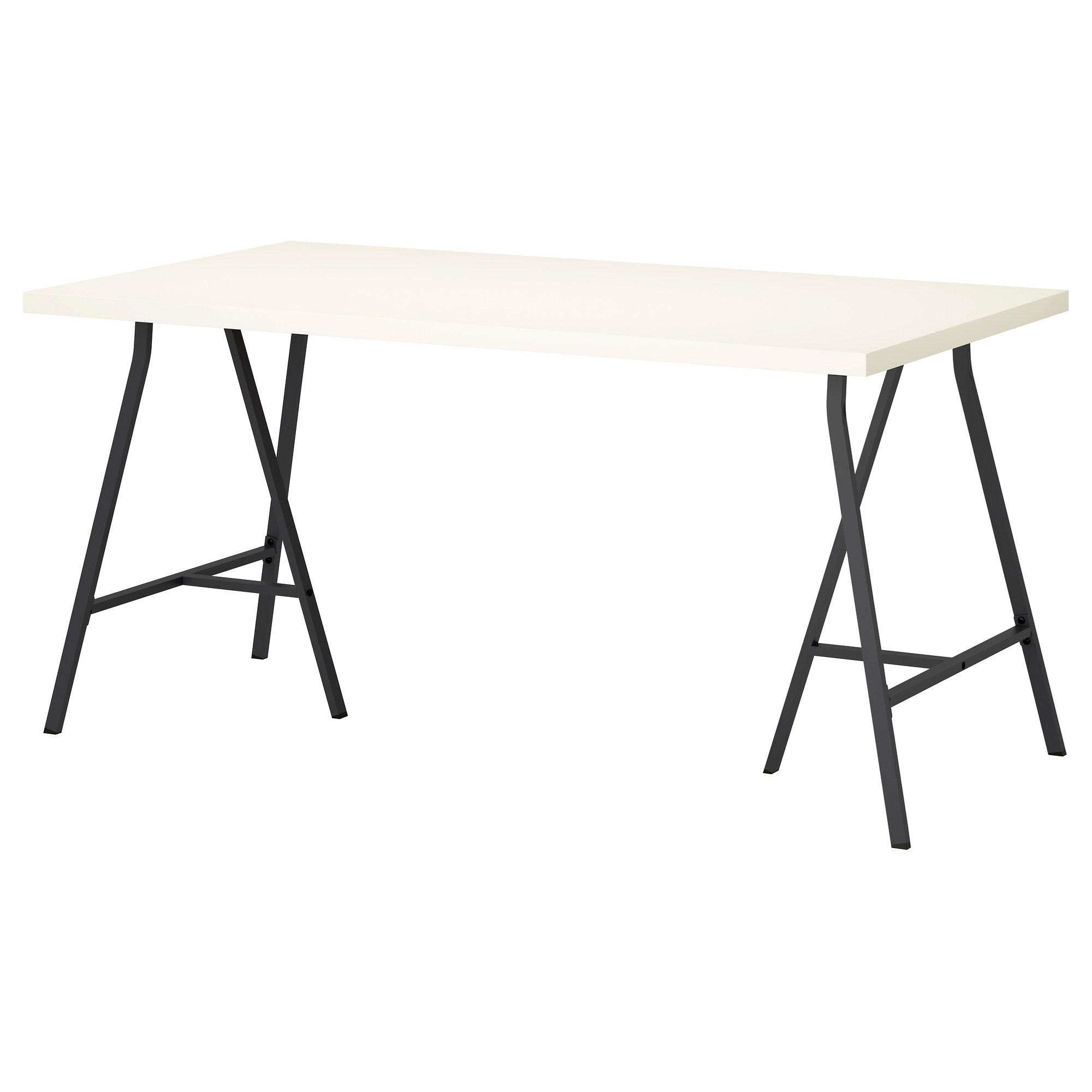 Ikea lerberg  LINNMON/LERBERG çalışma masası beyaz-gri 150x75 cm | IKEA Çalışma ...