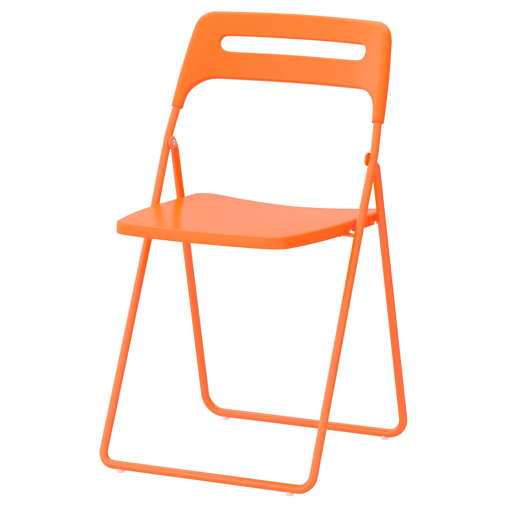 NISSE folding chair orange