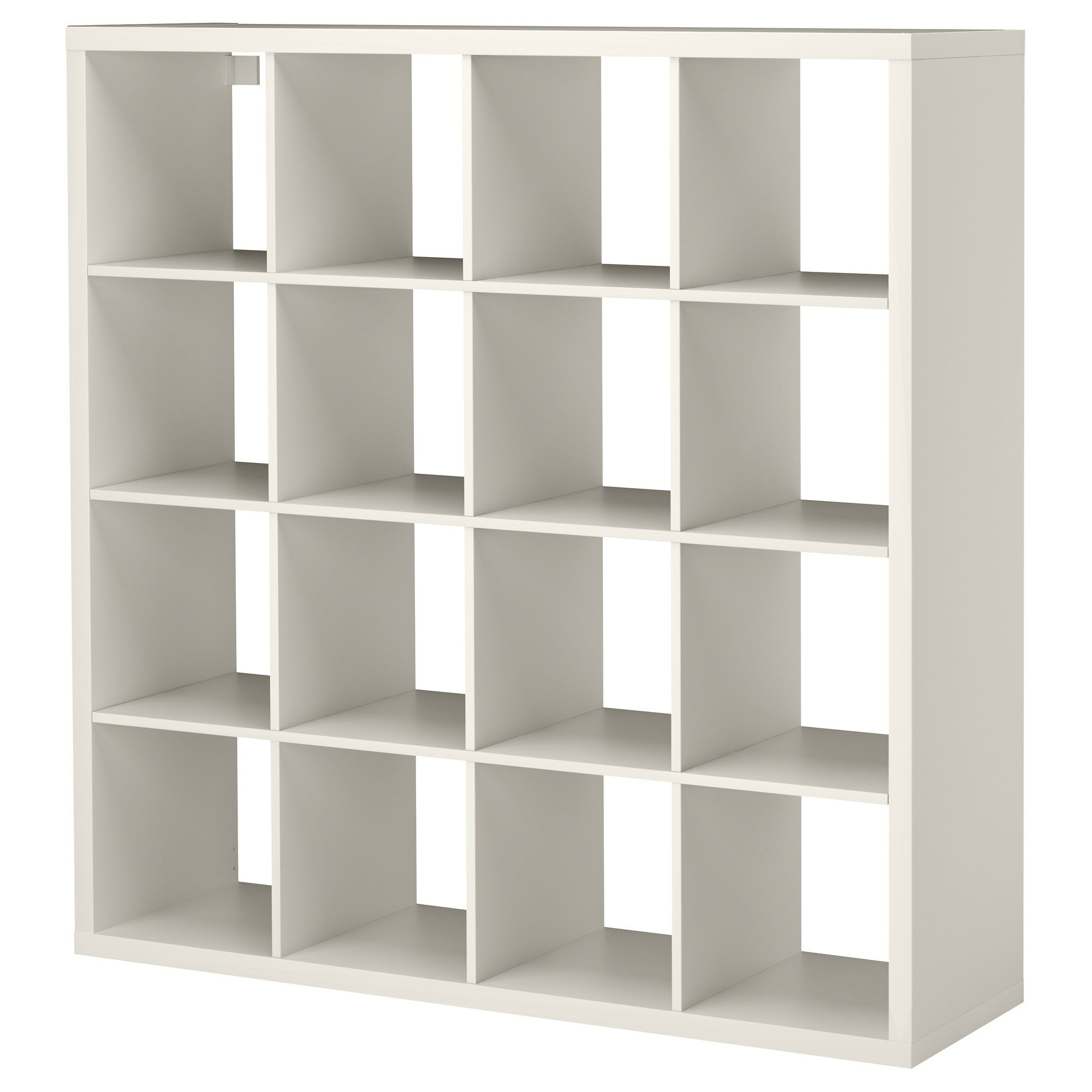 Regal ikea kallax  KALLAX shelving unit with 16 compartments white 147x39x147 cm ...