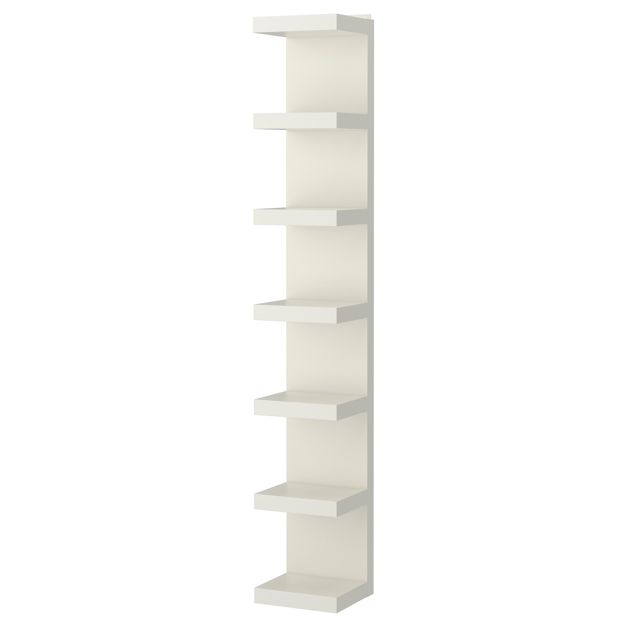 LACK shelving unit white 30x190 cm