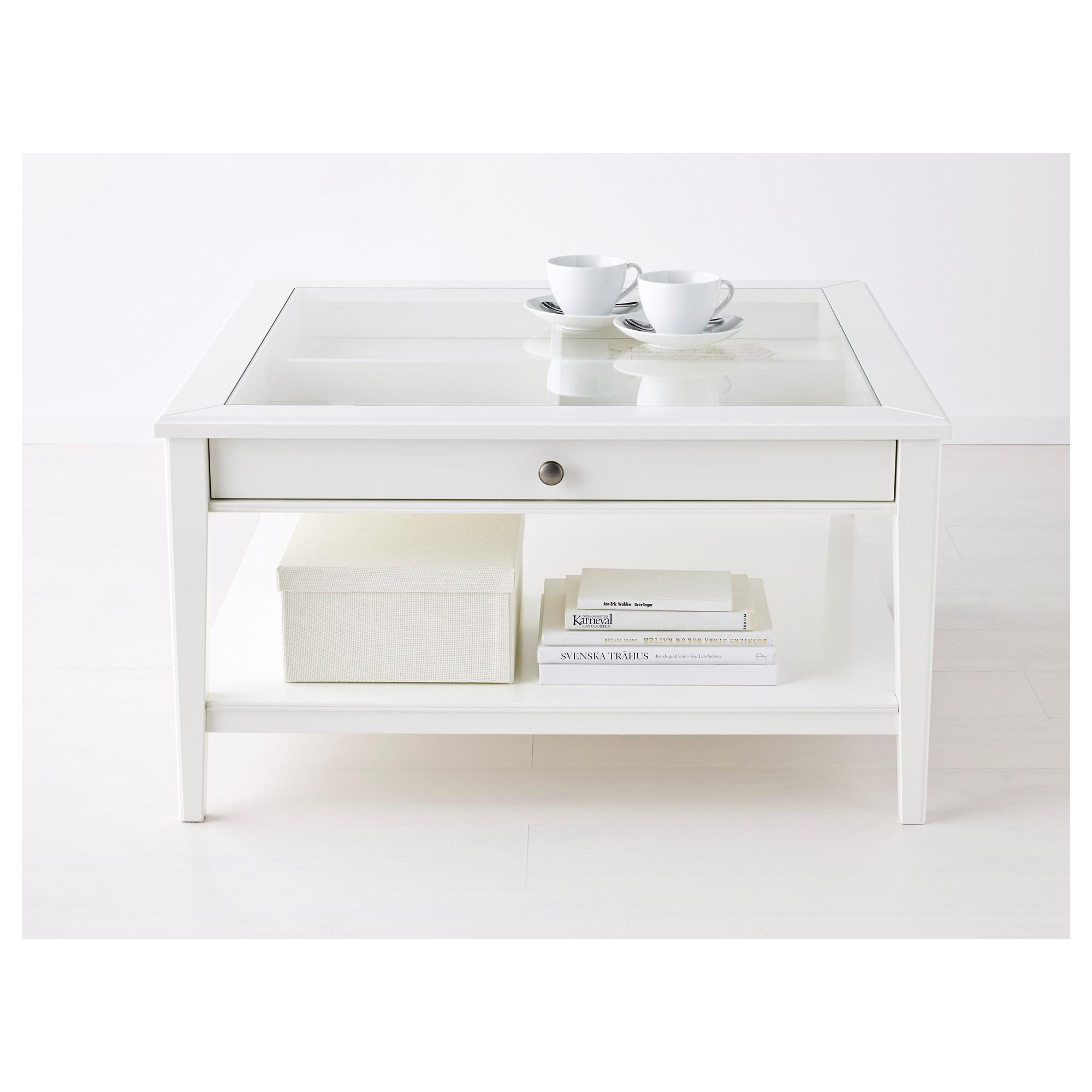 Liatorp Orta Sehpa Beyaz 93x93 Cm Ikea Oturma Odalari