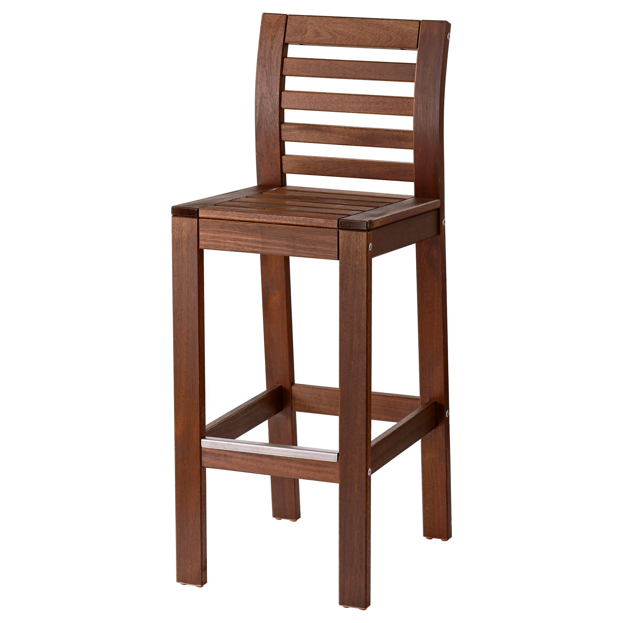 APPLAR– bar stool brown