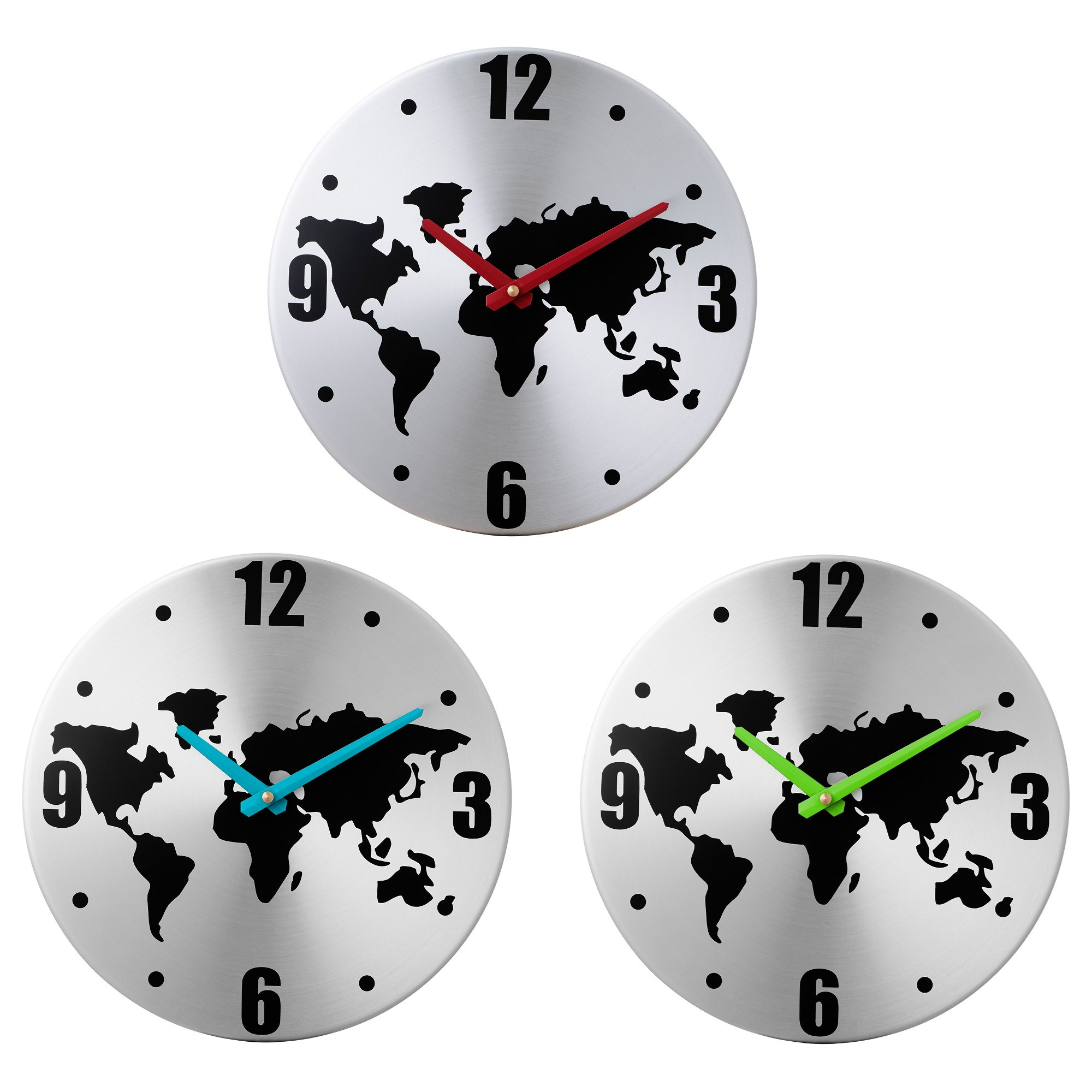 Persby wall clock world map assorted colours 30 cm ikea home persby wall clock world map assorted colours 30 cm ikea home decoration gumiabroncs Images