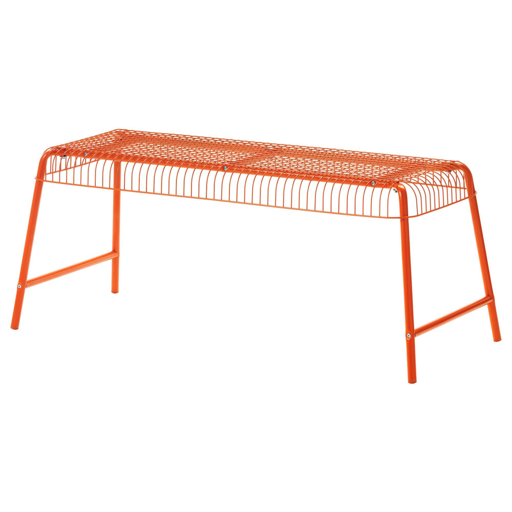 Ikea Bank Orange