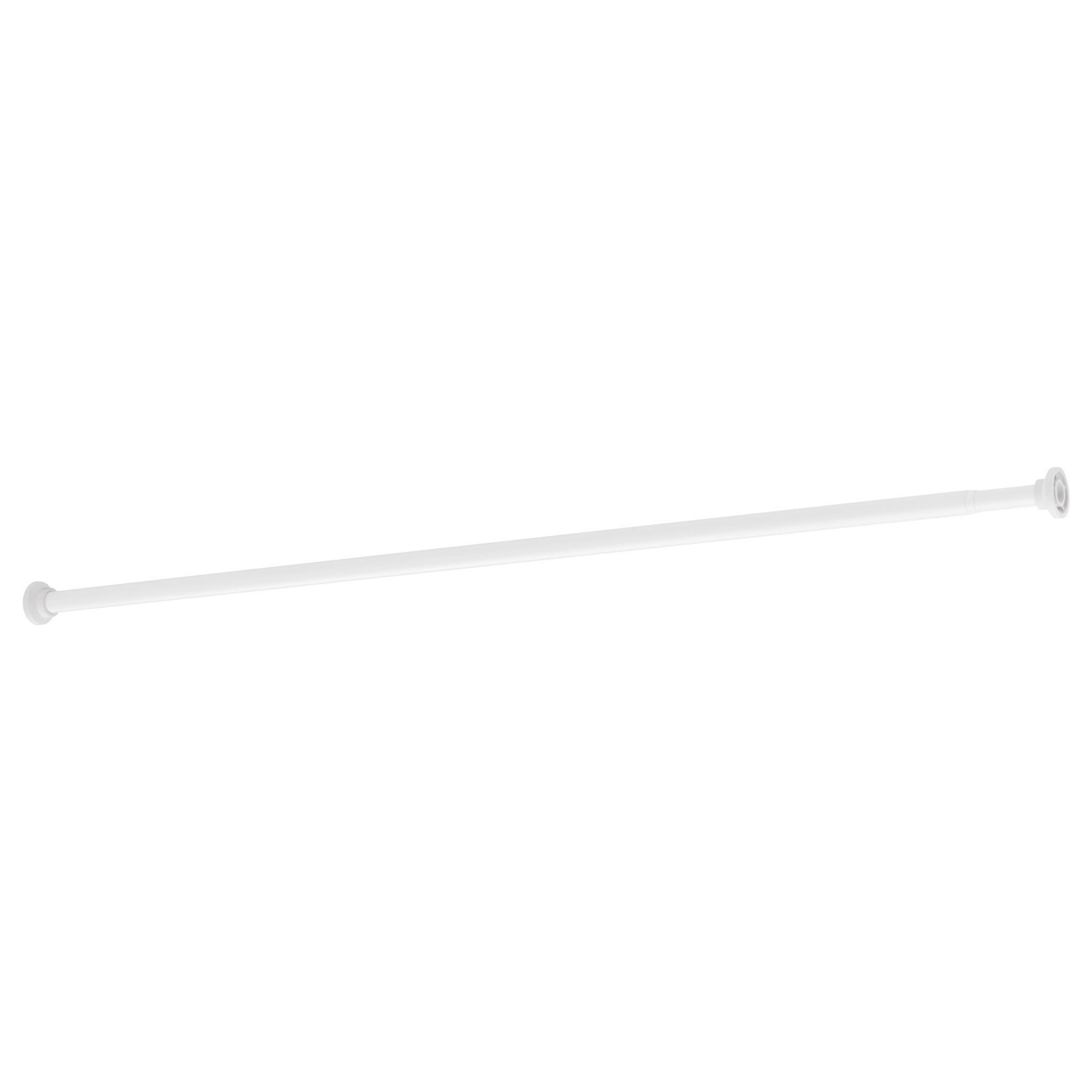 botaren shower curtain rod white 120-200 cm | ikea bathroom