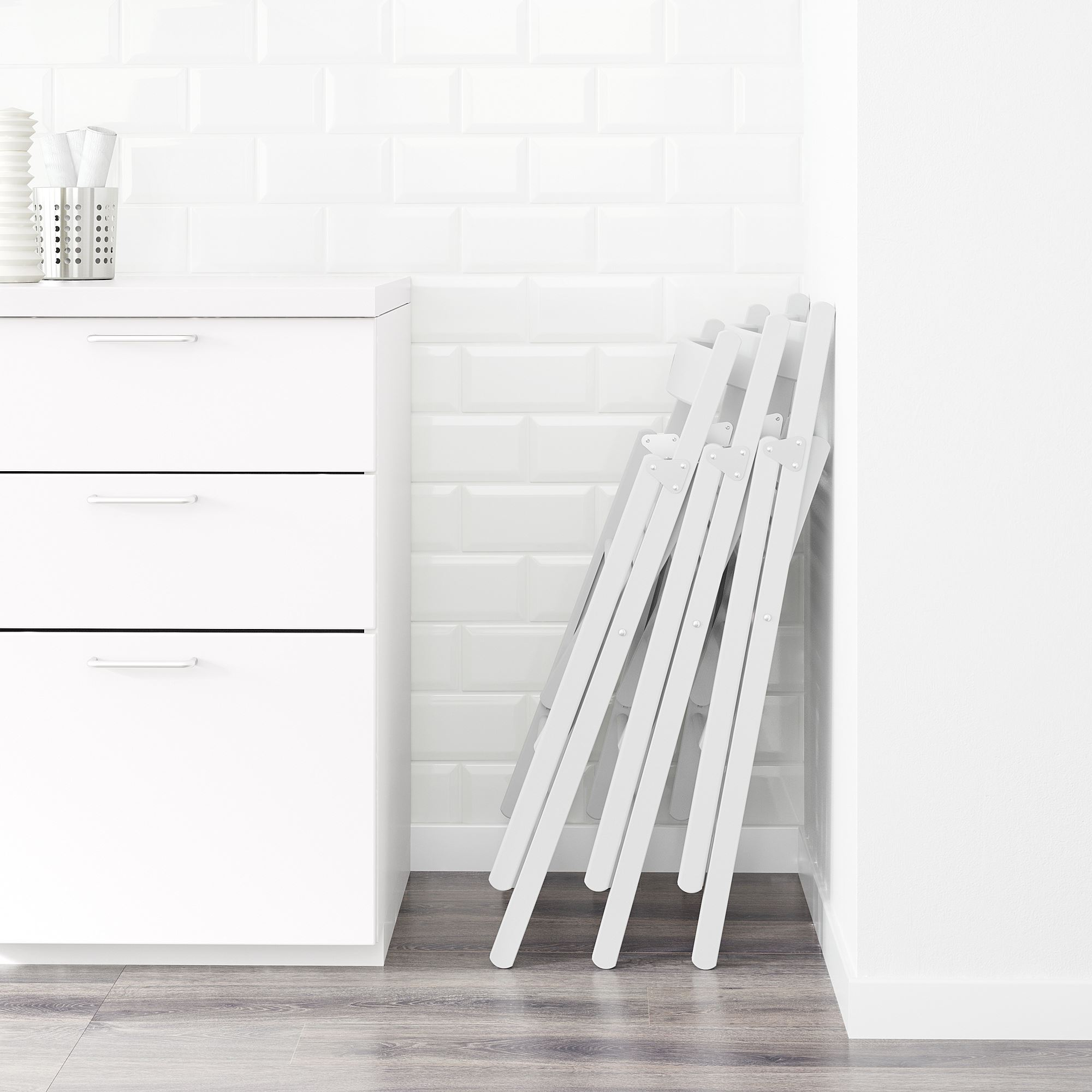 Terje Folding Chair White Ikea Dining Room