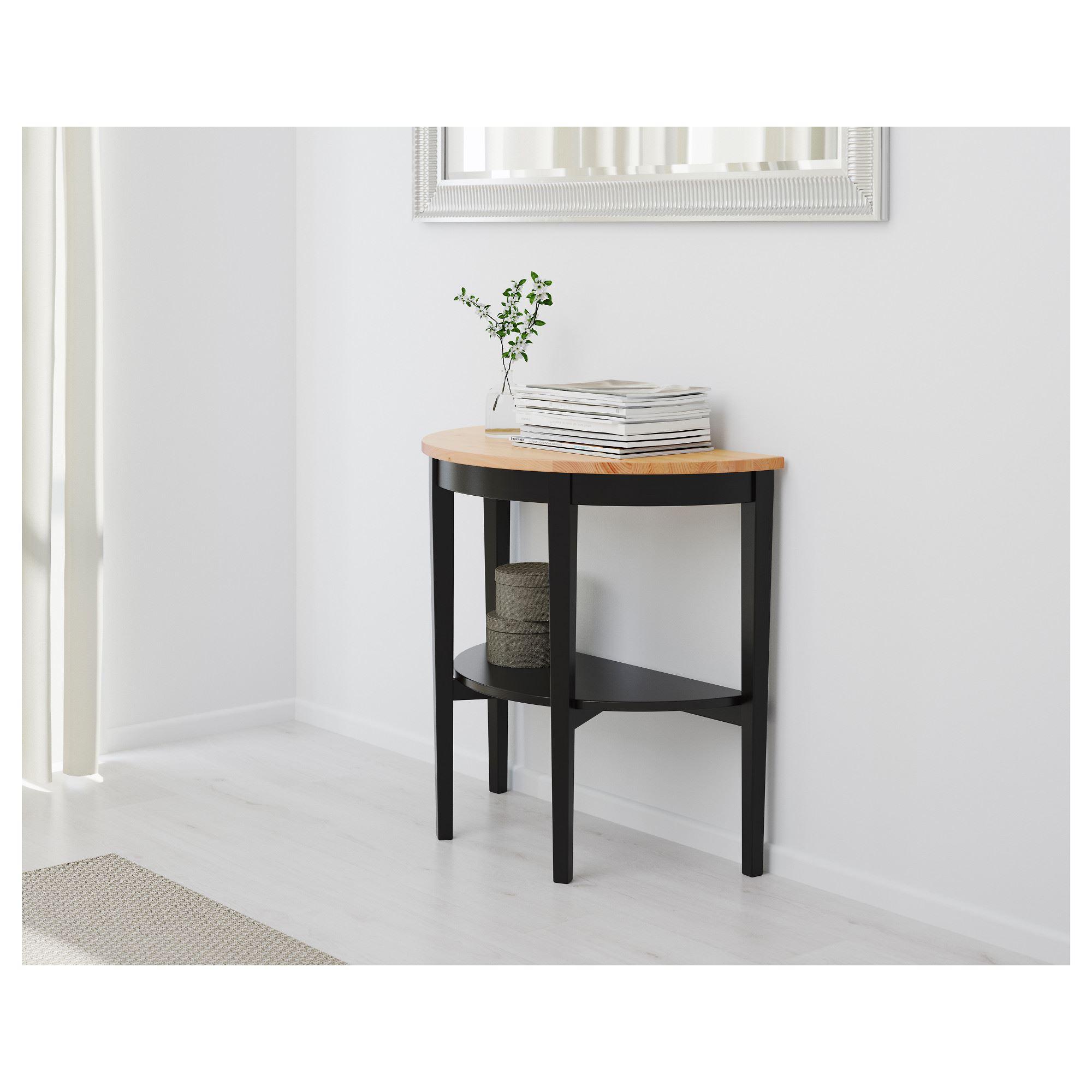 Arkelstorp Yan Sehpa Siyah 80x40x75 Cm Ikea Oturma Odalari