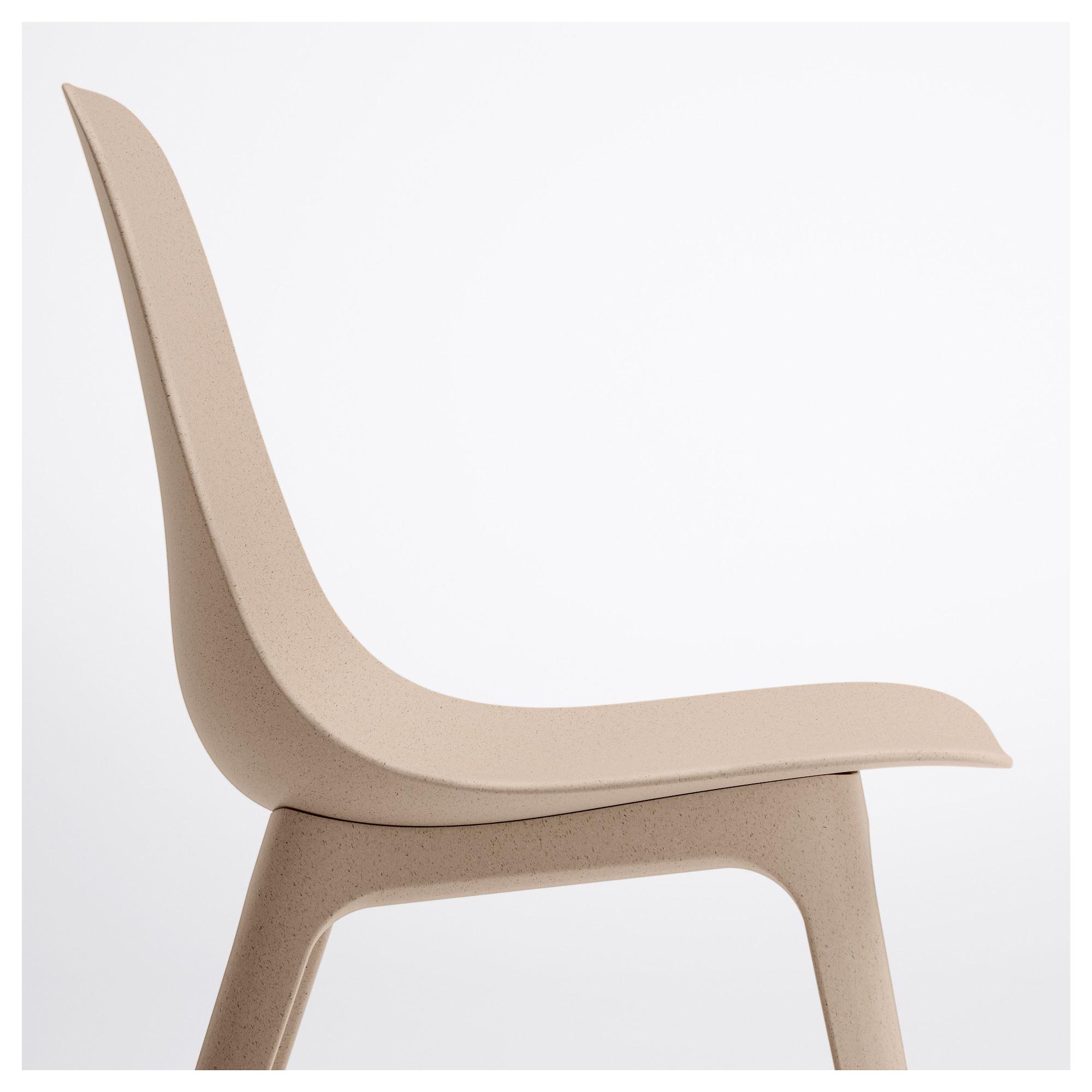 ODGER Chair White Beige