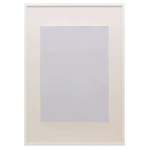 RIBBA photo frame white 40x50 cm | IKEA Home Decoration