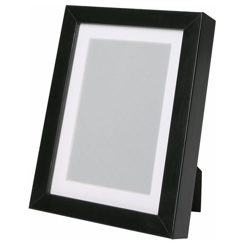 ribba photo frame black 13x18 cm ikea home decoration. Black Bedroom Furniture Sets. Home Design Ideas