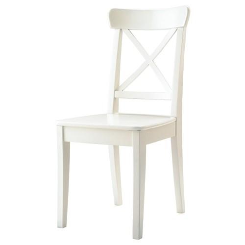 Ingolf sandalye beyaz ikea yemek odalar - Sedie bianche ikea ...