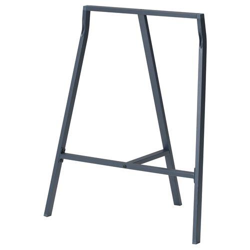 Ikea lerberg  LERBERG çalışma masası ayağı gri 70x60 cm | IKEA Çalışma Alanları