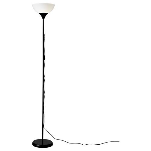 Not Floor Lamp White Black 174 Cm Ikea Lighting