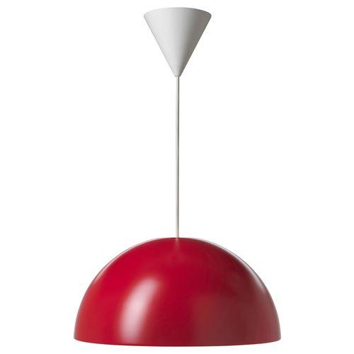 ikea 365 brasa pendant lamp red 45 cm ikea lighting