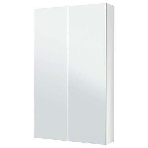 godmorgon mirror cabinet white 60x14x96 cm ikea bathroom. Black Bedroom Furniture Sets. Home Design Ideas