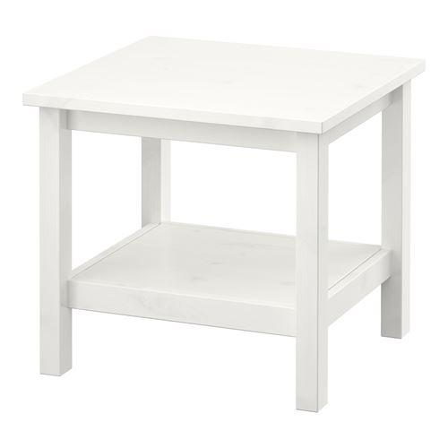 Hemnes Side Table White 55x55 Cm Ikea Living Room