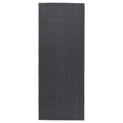 Morum Halı Koyu Gri 80x200 Cm Ikea Ev Tekstili