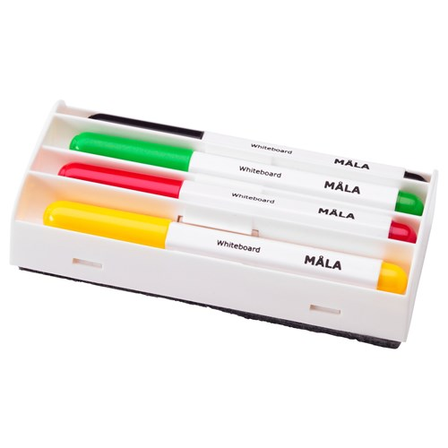 MALA yaz u0131 tahtas u0131 kalemiçe u015fitli renkler IKEA IKEA u00c7ocuk