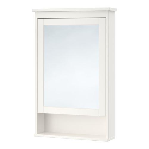 Hemnes Mirror Cabinet White 63x16x98 Cm Ikea Bathroom