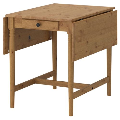ingatorp katlanabilir yemek masas antika vernik 59 88. Black Bedroom Furniture Sets. Home Design Ideas