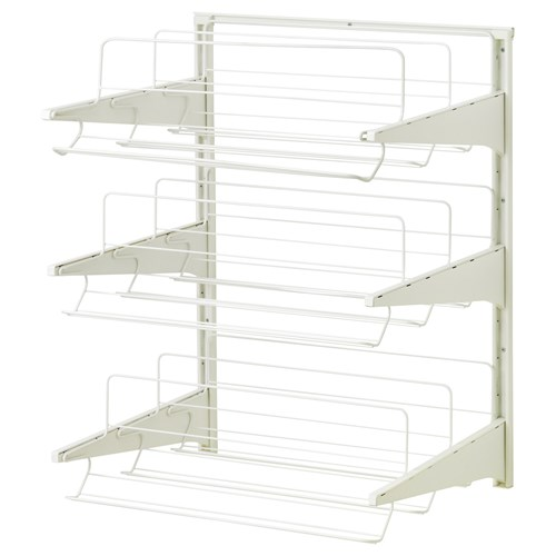Algot shoe rack white 65x60x84 cm ikea ikea for your business - Ikea rangement mural ...